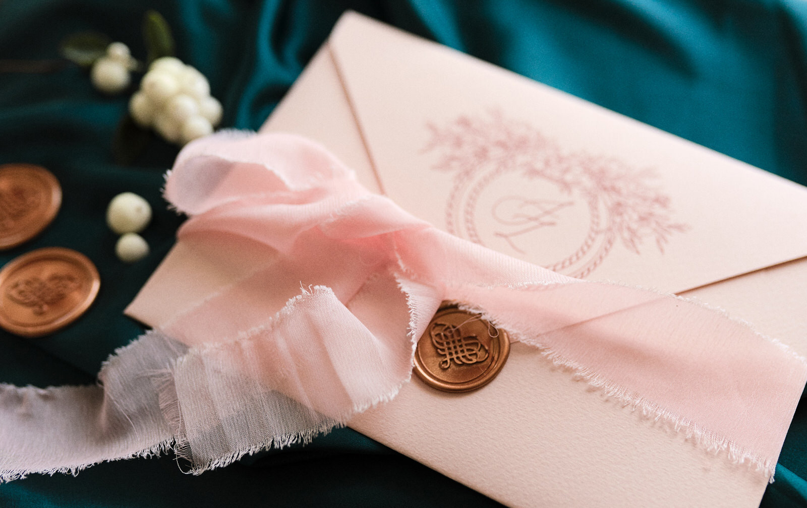 Blush Pink Envelope