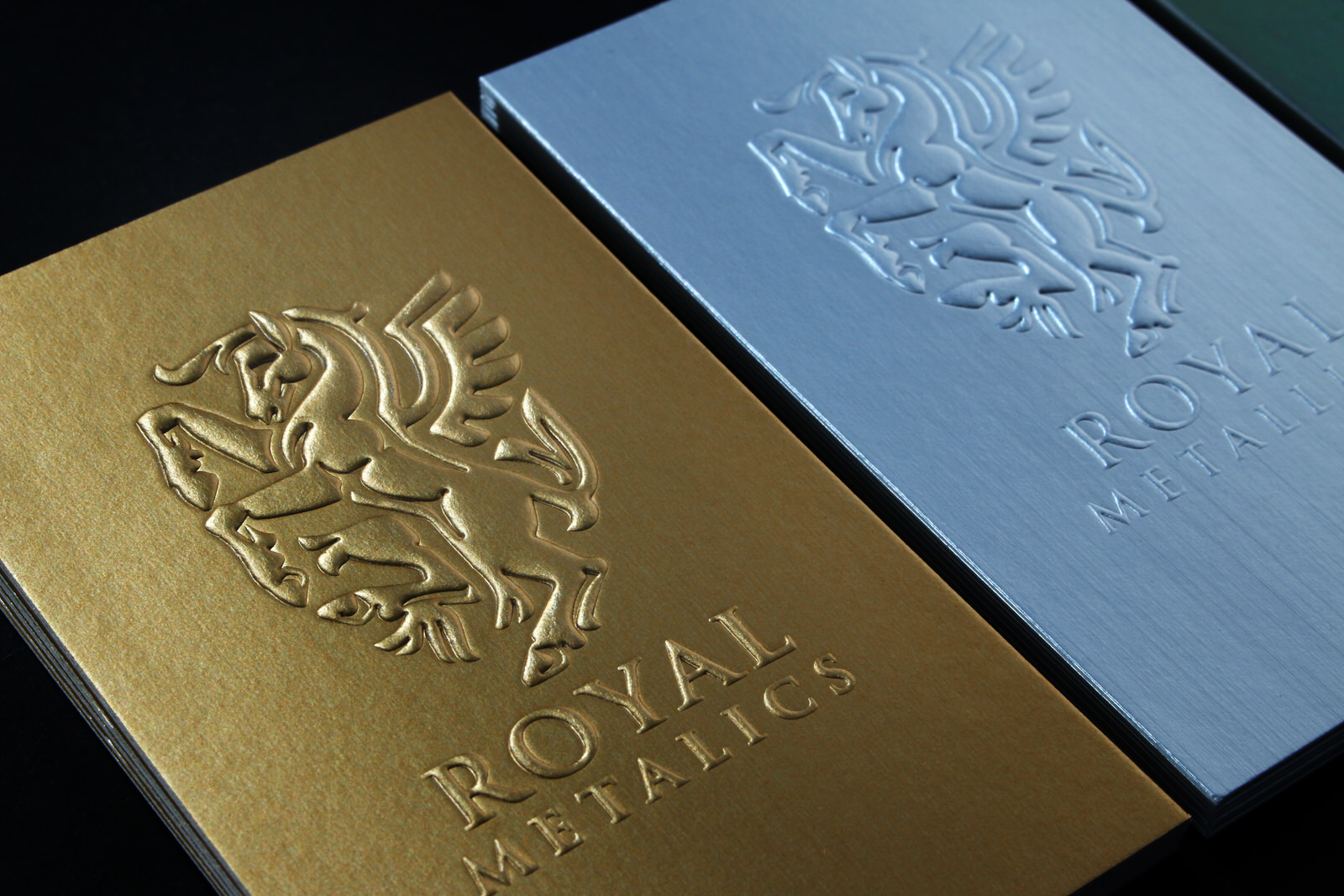 Embossed Business Cards Online Luxury Business Cards